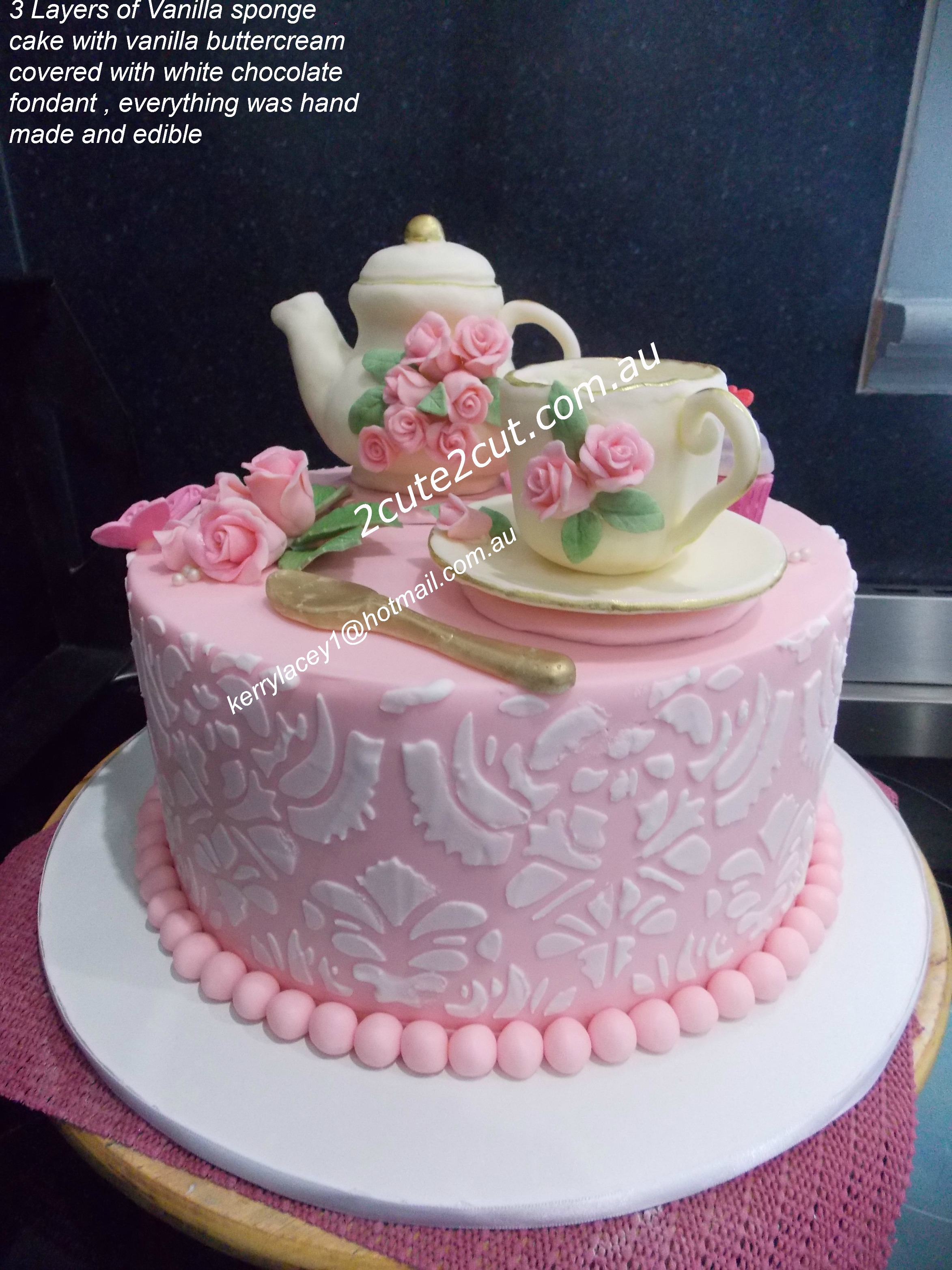 2cute2cut Com Au Handmade Cakes Made With Love